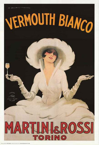 Martini and Rossi Vermouth Bianco Poster