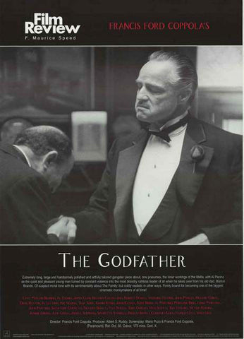 The Godfather Film Review Poster