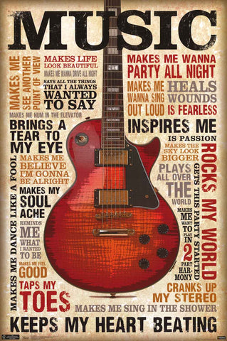 Music Inspires Poster