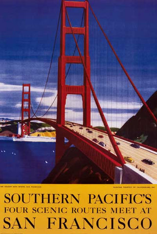 Southern Pacific Railroad Poster