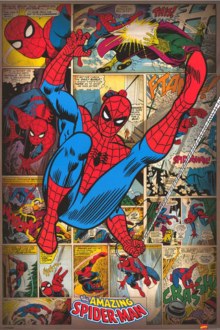 Spider-Man Marvel Comics Bronze Age Poster