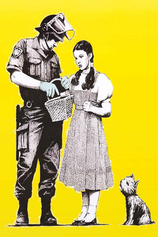 Banksy Wizard of Oz Poster