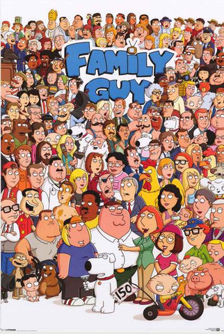 Family Guy TV Show Poster