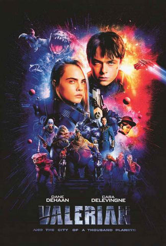 Valerian Movie Poster