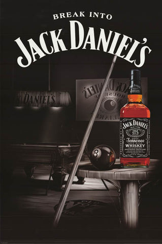Jack Daniels Tennessee Whiskey Poster