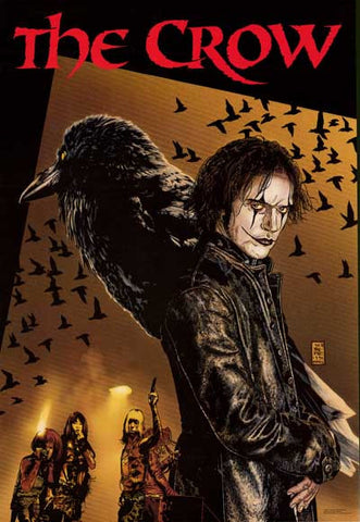 The Crow Kitchen Sink Comics Poster