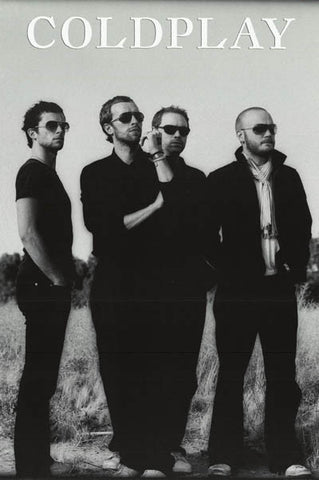 Coldplay Band Poster
