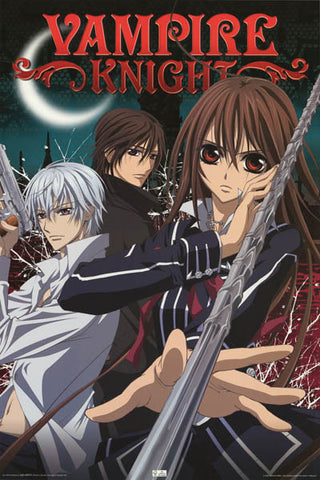 Vampire Knight Anime Cartoon Poster