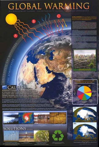 Global Warming Education Poster