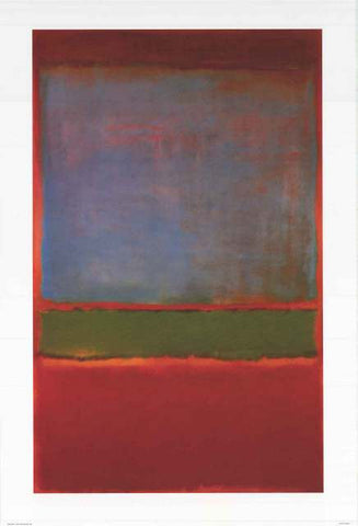 Mark Rothko Violet Green Red Poster
