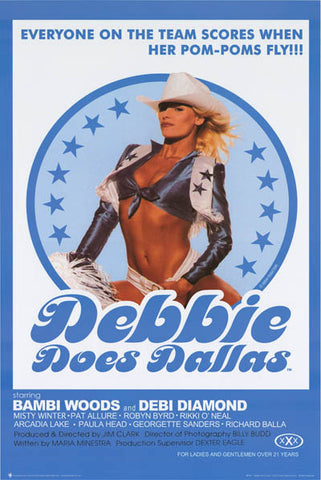 Debbie Does Dallas Movie Poster
