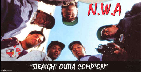 N.W.A. Band Poster