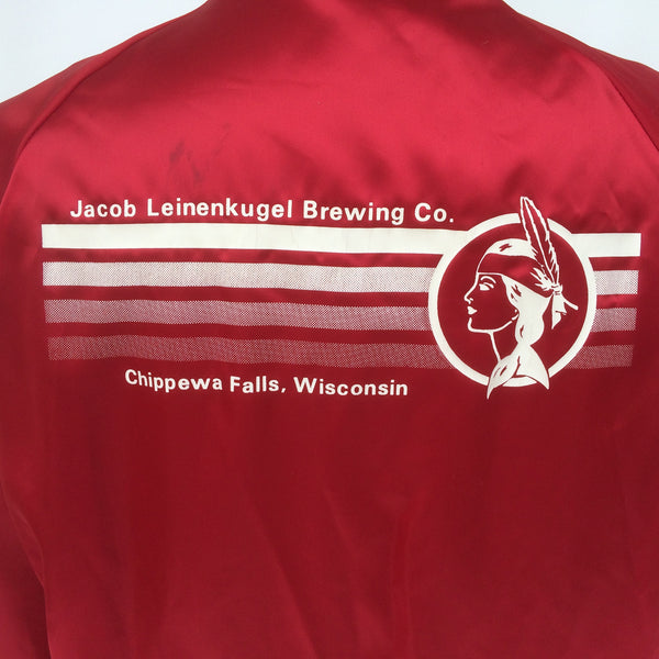 Vintage Leinenkugels Beer Coaches Jacket