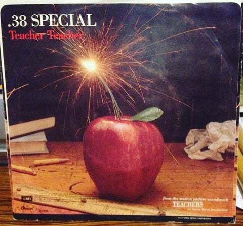 "38 Special ‎– Teacher Teacher- 1984- Southern Rock, Soundtrack - Vinyl, 7"", 45 RPM, Single"