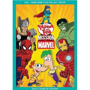 Phineas and Ferb: Mission Marvel (Bilingual) DVD - New / Sealed