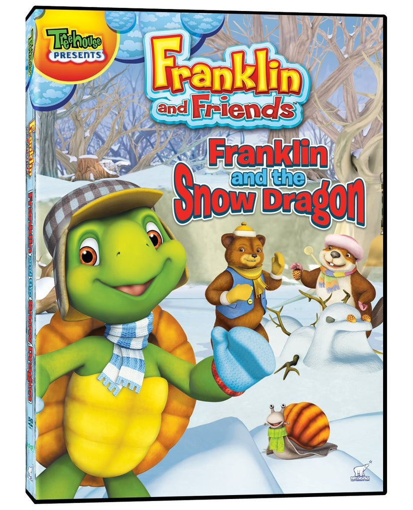 Franklin and Friends - Franklin and the Snow Dragon DVD ( New / Sealed )