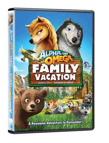 Alpha & Omega: Family Vacation (Bilingual) dvd - New