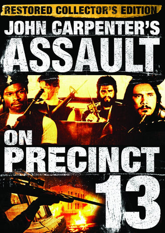 Assault on Precinct 13 -John Carpenter DVD