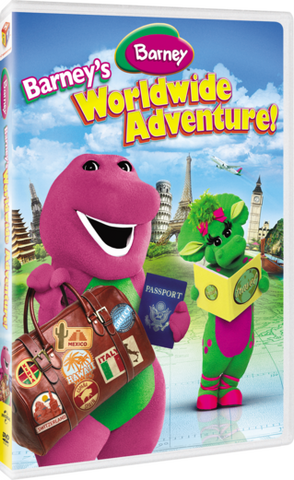 Barney's Worldwide Adventure DVD -New