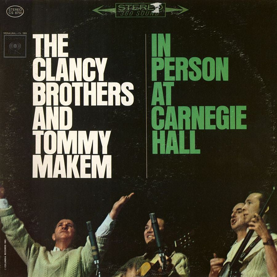 Clancy Brothers & Tommy Makem: In Person At Carnegie - 1963 Folk (vinyl)