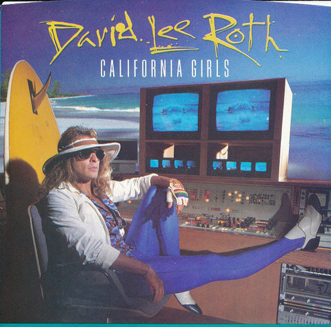 "David Lee Roth ‎– California Girls -1985- Pop Rock - Vinyl, 7"", 45 RPM, Single"