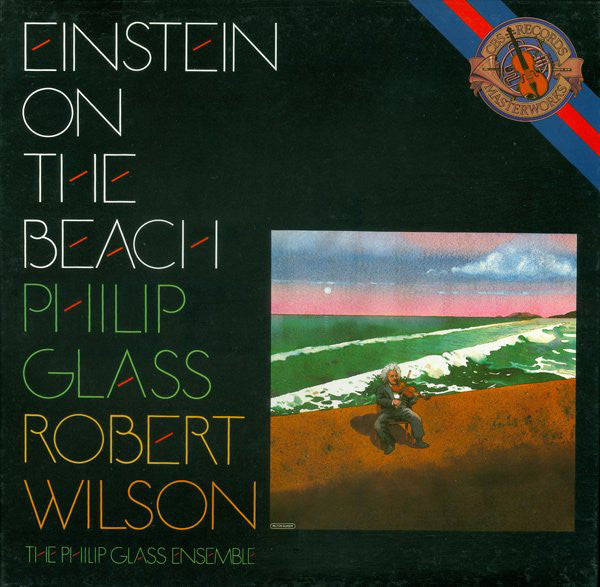 Philip Glass / Robert Wilson (2) / The Philip Glass Ensemble ‎– Einstein On The Beach-4 Lps - Classical (Holland Import Vinyl)