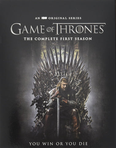 Game of Thrones: The Complete First Season [Blu-ray] Mint Used