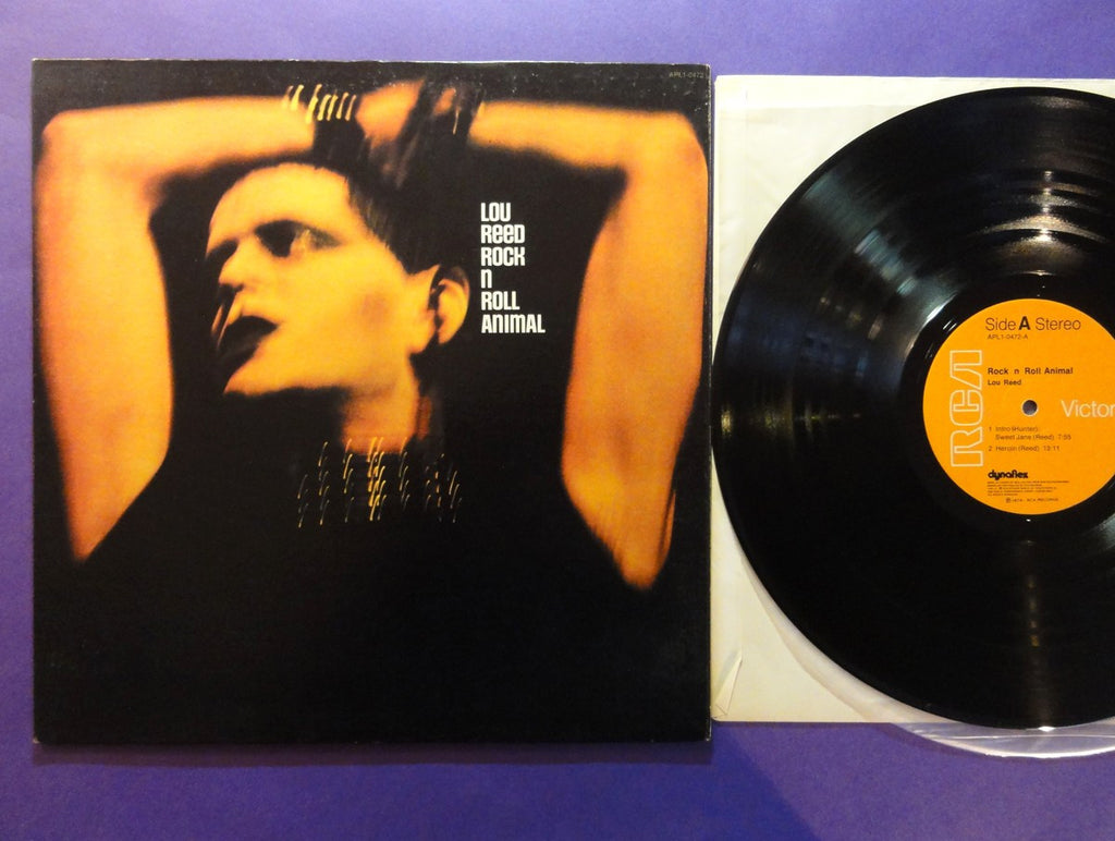 Lou Reed - Rock n Roll Animal - 1974 glam hard rock (vinyl)