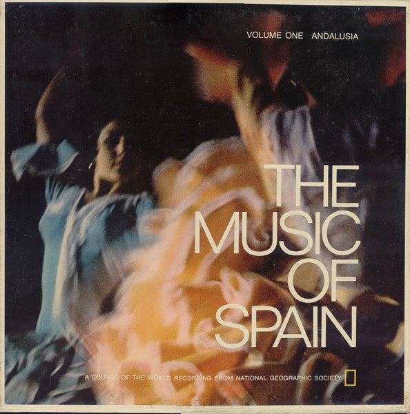Music Of Spain - Volume One Andalusia - 1973-  Andalusian Classical (Rare Vinyl)