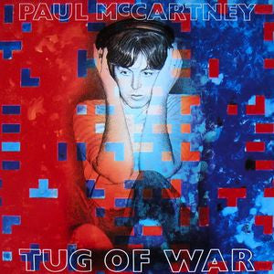 Paul McCartney ‎– Tug Of War - 1982 - soul pop (clearance vinyl)