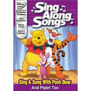 Sing Along Songs With Pooh Bear And Piglet Too DVD