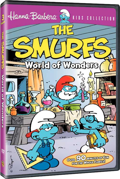 Smurfs, The : Volume 3-World Of Wonders New Sealed DVD