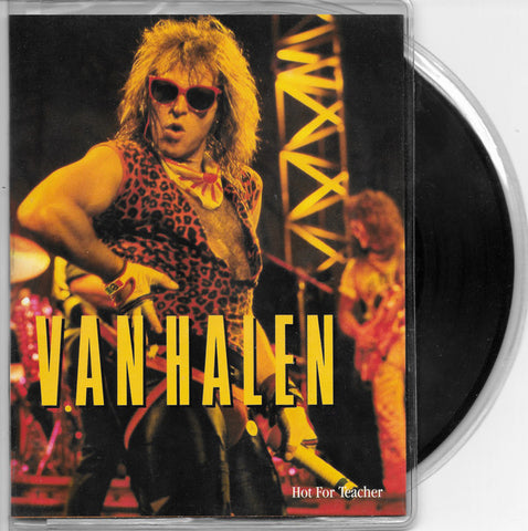"Van Halen ‎– Hot For Teacher -1984  Hard Rock - Vinyl, 7"", 45 RPM, Single, Styrene"