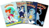Futurama: Seasons 1-4 DVD Sets ( Mint Used )