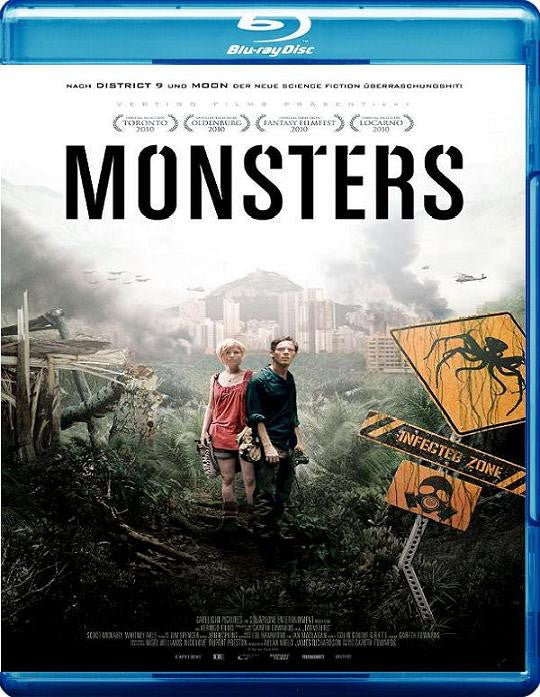 Monsters Blu Ray - Mint Used
