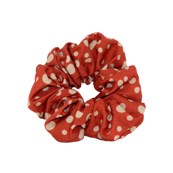 Lindi Kingi | Winter Spot Scrunchie - Ruby | Shut the Front Door