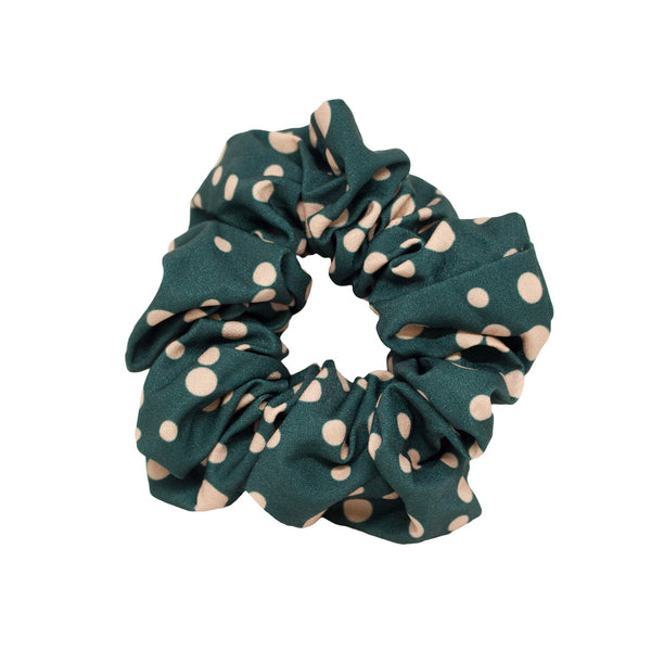 Lindi Kingi | Winter Spot Scrunchie - Forest | Shut the Front Door
