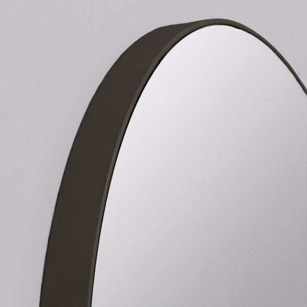 Middle of Nowhere | Flynn Round Mirror 80cm Black | Shut the Front Door