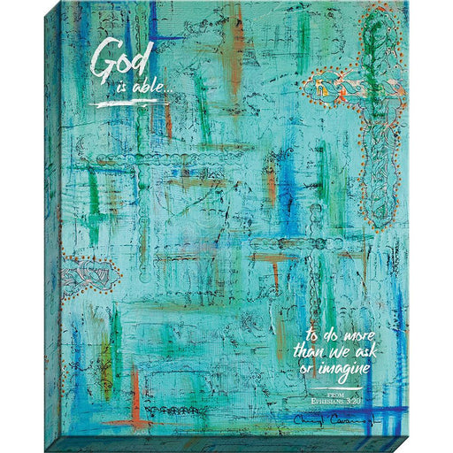 God Is Able - Canvas Print - Love the Lord Inc