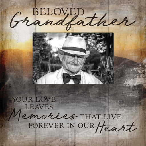 Photo Frame - Beloved Grandfather - Love the Lord Inc