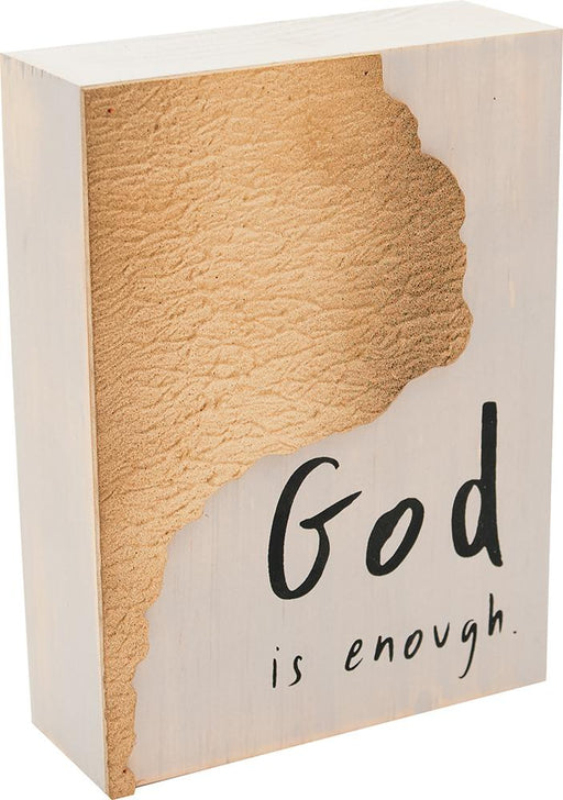Desktop Block - God Is Enough - Love the Lord Inc