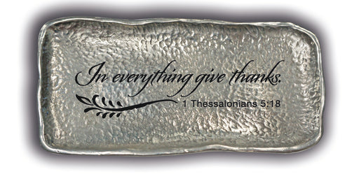 Coin Dish - In Everything Give Thanks - Love the Lord Inc