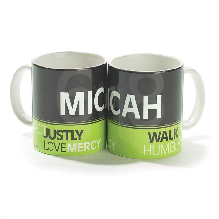 Christian Mug - Act Justly, Love Mercy - Love the Lord Inc