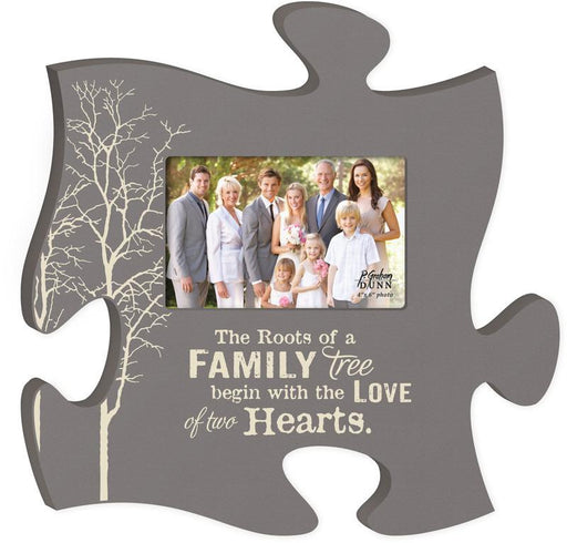 "Scripture Gifts - Puzzle Piece Picture ""Family Roots"" - Love the Lord Inc"