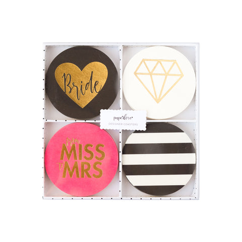 Paper Love Fling Before the Ring Coasters