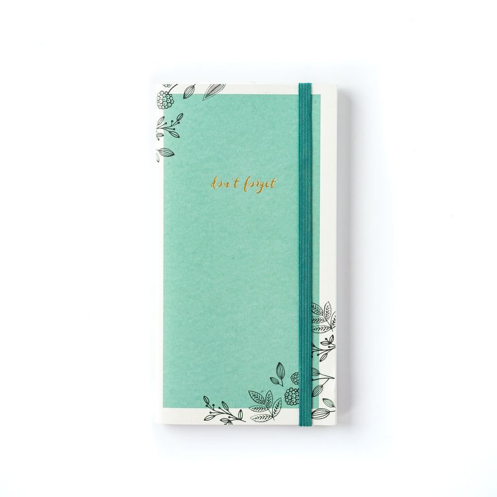 Paper Love Graphic Floral Password Keeper