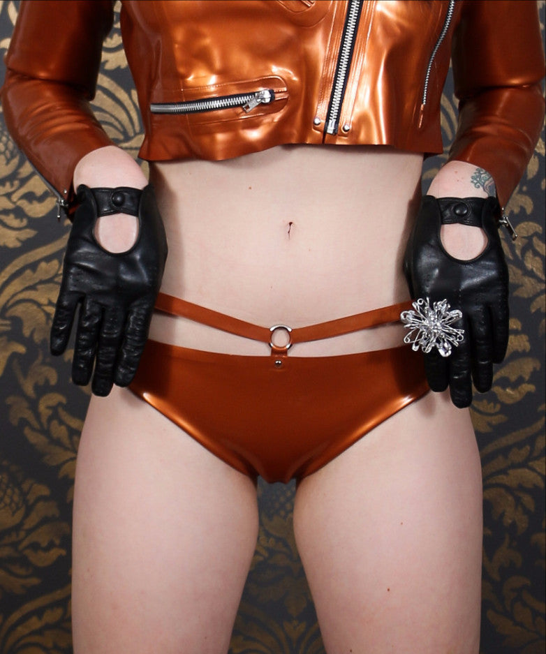 Strapped Latex Panty