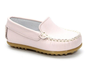 Leather Moccasin Pink Shoes for Girls Patucos shoes