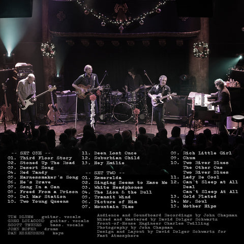 The Mother Hips - Ultimate Setlist Show 2 - live at great american music hall  12/21/13