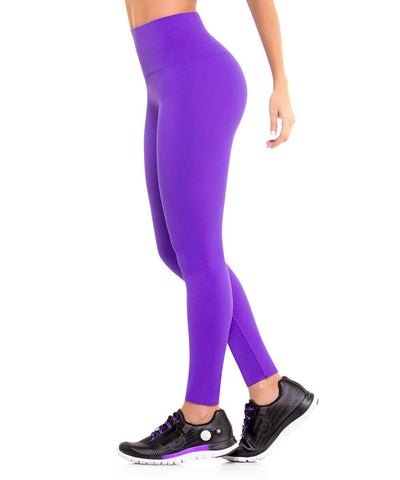 901 - Ultra Compression and Abdomen Control Fit Legging Purple